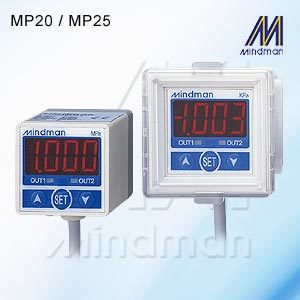 Pneumatic Pressure Switch  Model: MP20/MP25