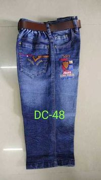 Boys Denim Capri