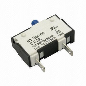 125250V AC, 50V DC Circuit Breaker