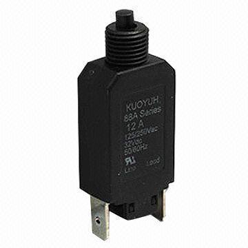 12, 24V DC Auto Reset Circuit Breaker