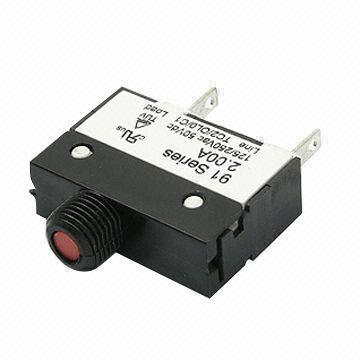 1.0 to 10.0A Thermal Circuit Breaker