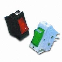 Rocker Switch with OffOn Single Pole Switch
