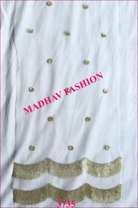 Sequin Dupatta Fabric