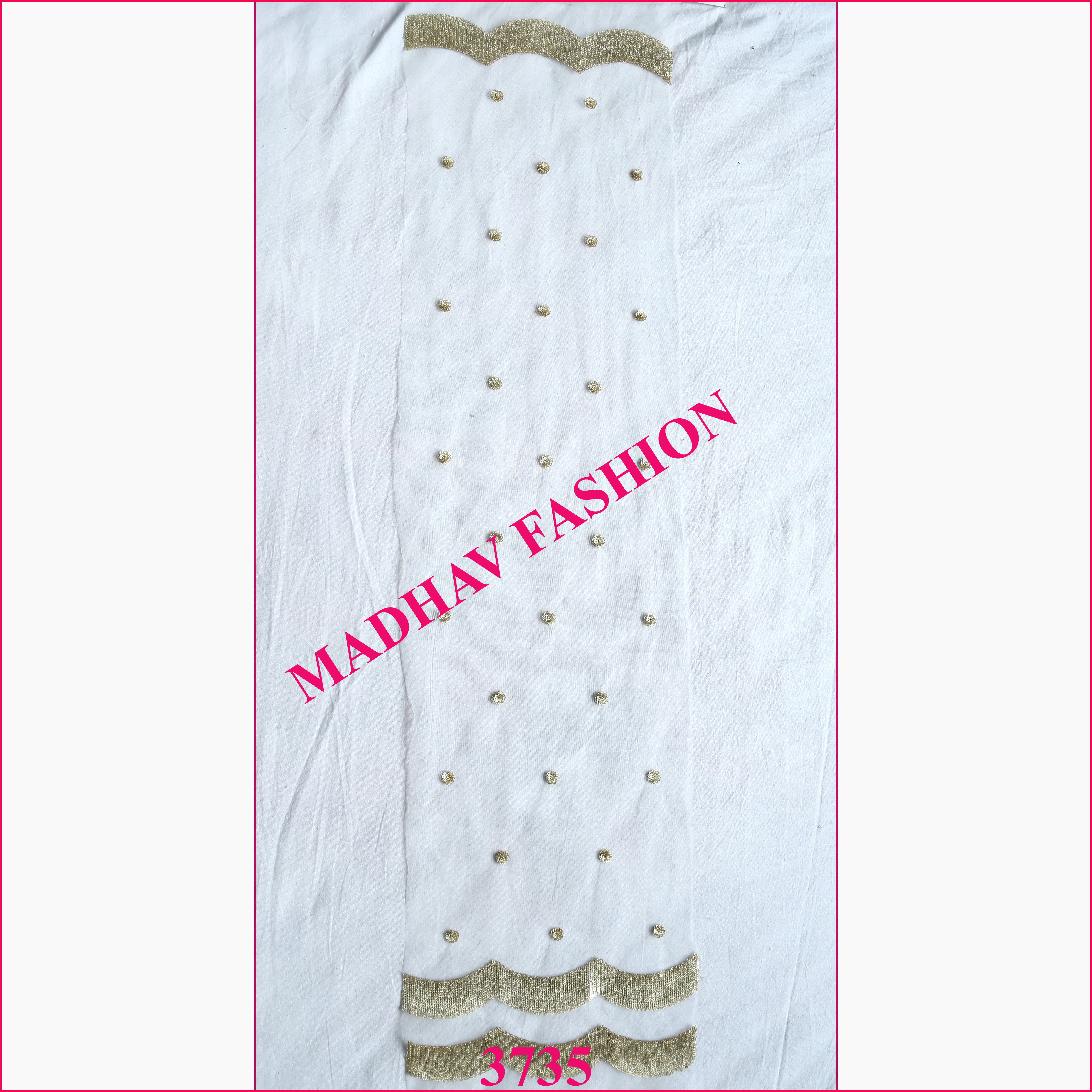 Sequin Dupatta Fabric