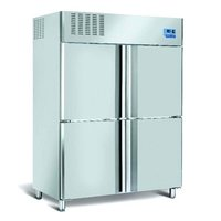 Four Door Vertical Chiller (RC4D1390A)  (1300 Ltrs.)