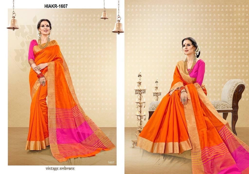 Cotton Silk Sarees Collection