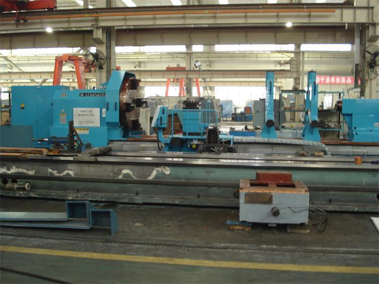 High efficiency heavy duty cnc lathe machine price