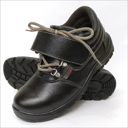 Mens Black Safety Shoes