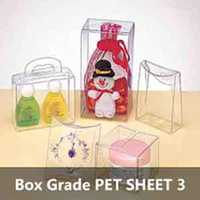 Box Grade PET SHEET 3