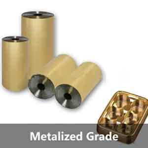 Metalized Grade PET SHEET