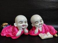 Laughing Baby Buddha Statue