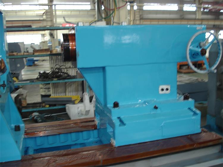 High production efficiency large lathes