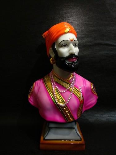 Shivaji Maharaj Marble Statue