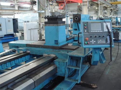 Heavy duty cnc lathe machine for metal cutting