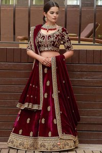 wedding lehenga choli for bride