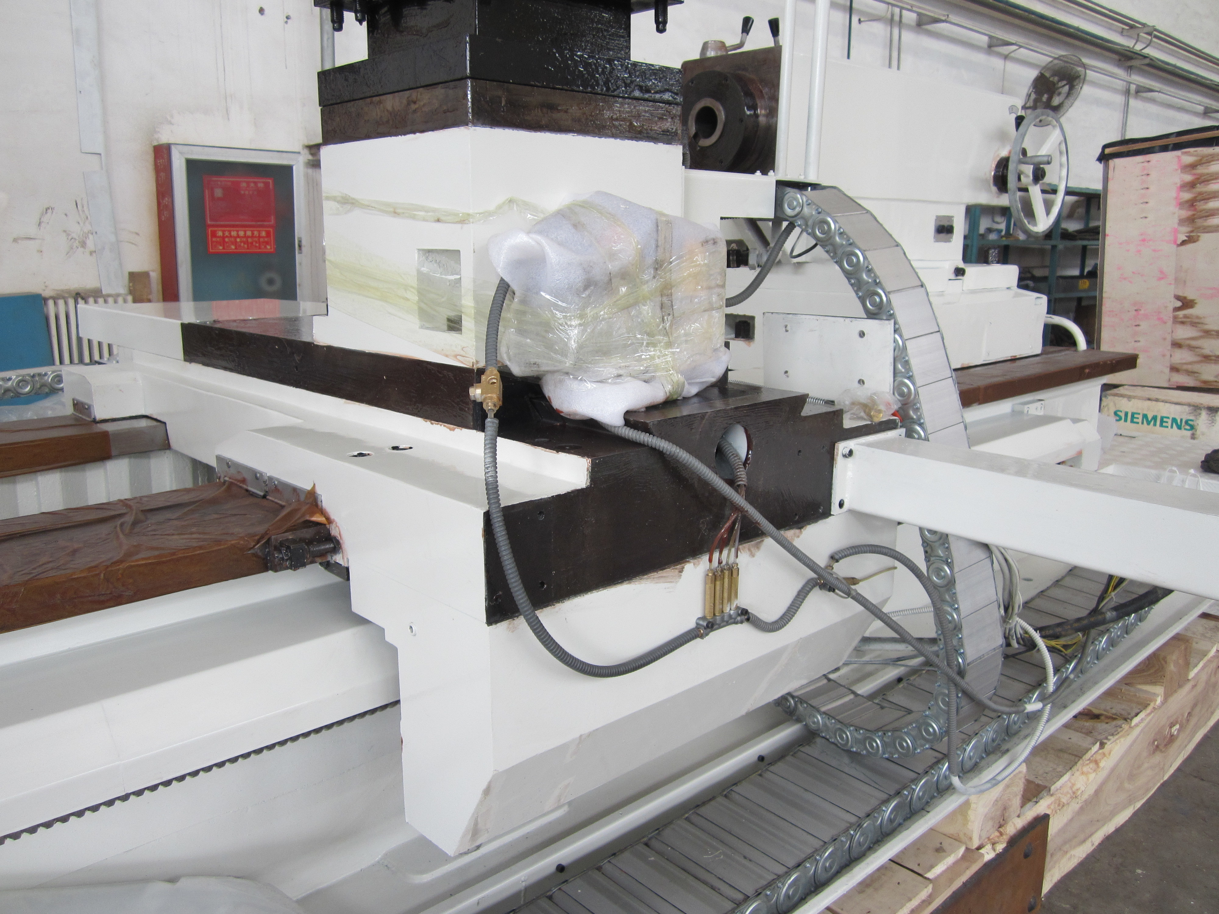 Cnc lathe for pipe threading for oil country