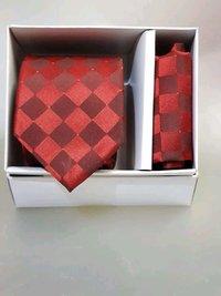 Designer Tie with Hankey
