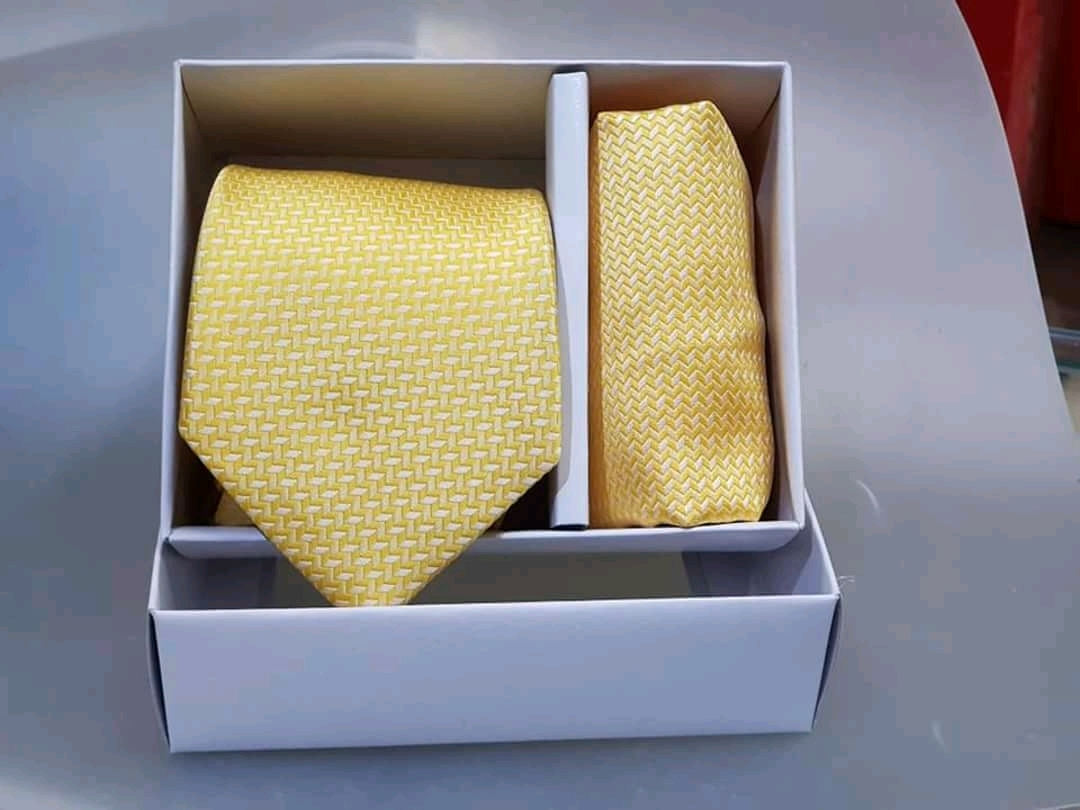 Mens Tie with Hankey