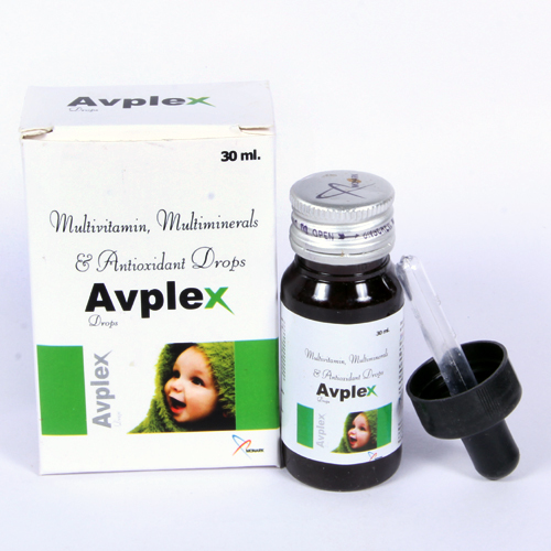 Multivitamin + Multimineral + Antioxidant Drops With Monocarton