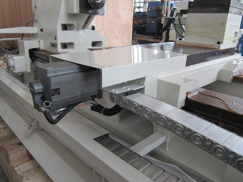 New cnc double chuck lathe with good service