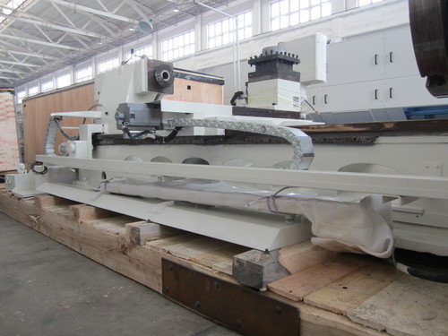 QK1235 Dia Of Pipes 340mm Pipe Threading Turinng Lathe For Oil Gas