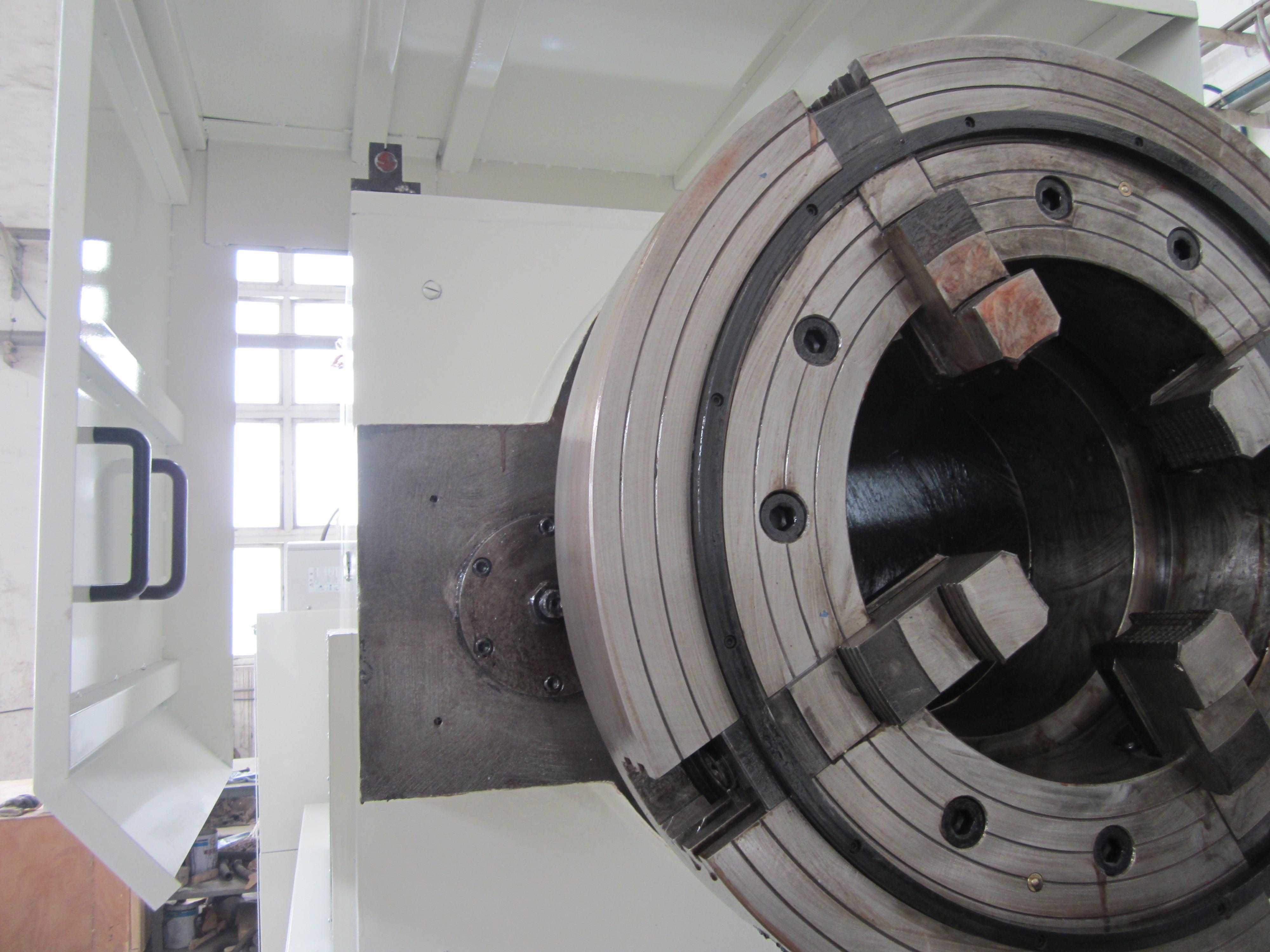 QK1246 China Heavy Duty CNC Pipe Threading and Turning Lathe Machine