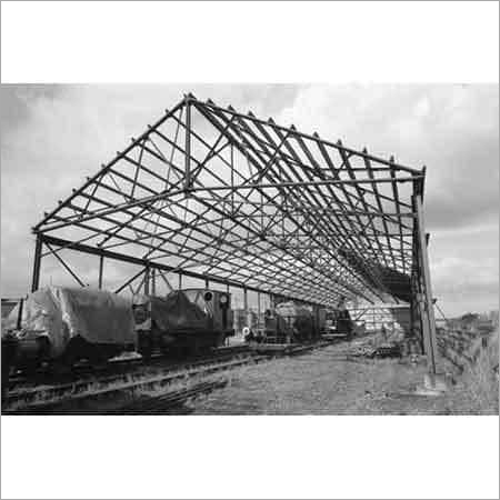 Railway Shed Construction Service