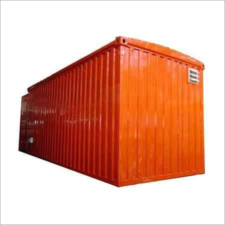 Storage Container Fabrication Service