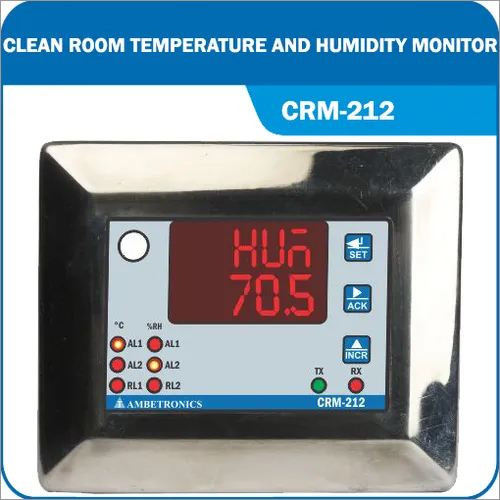 Clean Room Temperature and Humidity Monitor
