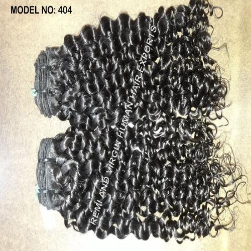Natural Curly Human Hair Extensions