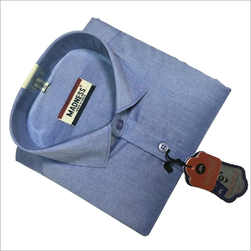 Full Sleeve Formal Shirt on Blue Shirts
