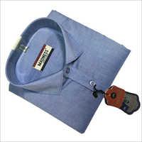 Full Sleeve Formal Shirt on Blue Shirts