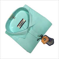 Full Sleeve Formal Shirt on Green Shirts