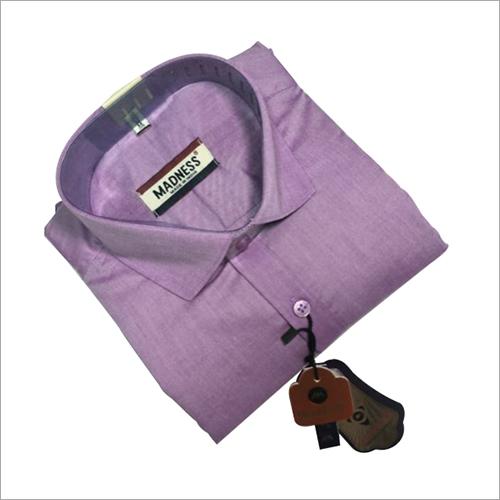 Full Sleeve Formal Shirt on Purple Shirts