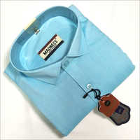 Full Sleeve Formal Shirt on Sky Blue Shirts