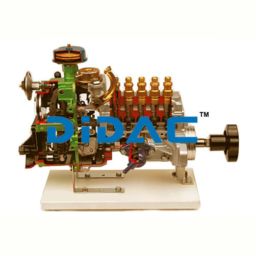 Inline Fuel Injection Pump With Centrifugal Governor