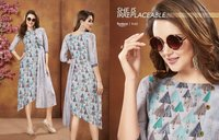 Georgette Digital Print Kurtis