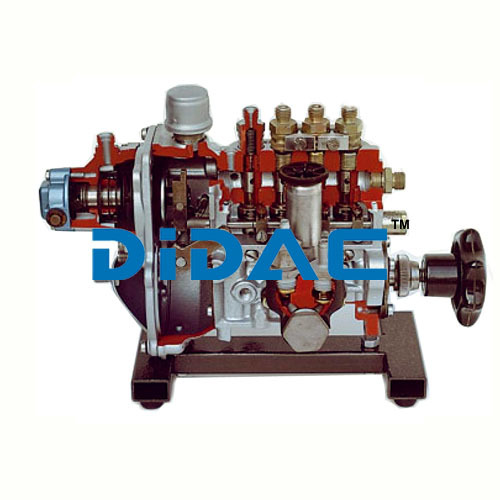 In Line Fuel Injection Pump With Vacuum Governor