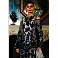 Pakistani Faux Georgette Mono Net Dress