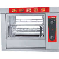 Compact & Ergonomically Designed Convection Oven CO ROT 8 Chicken