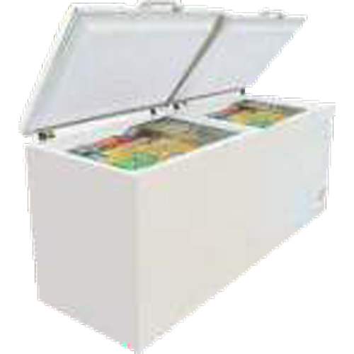 Double Lid Chest Freezer