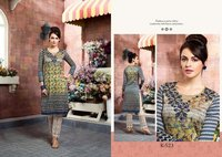 New Stylish Silk Printed Kurtis