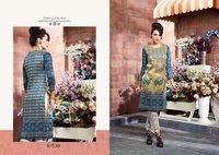 New Stylish Silk Printed Kurtis