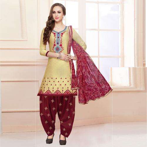 Fancy Wear Patiala Suit