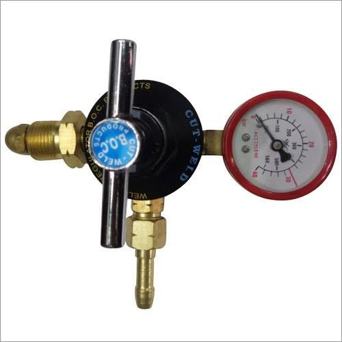 Single Stage Single Meter Acetylene Regulator