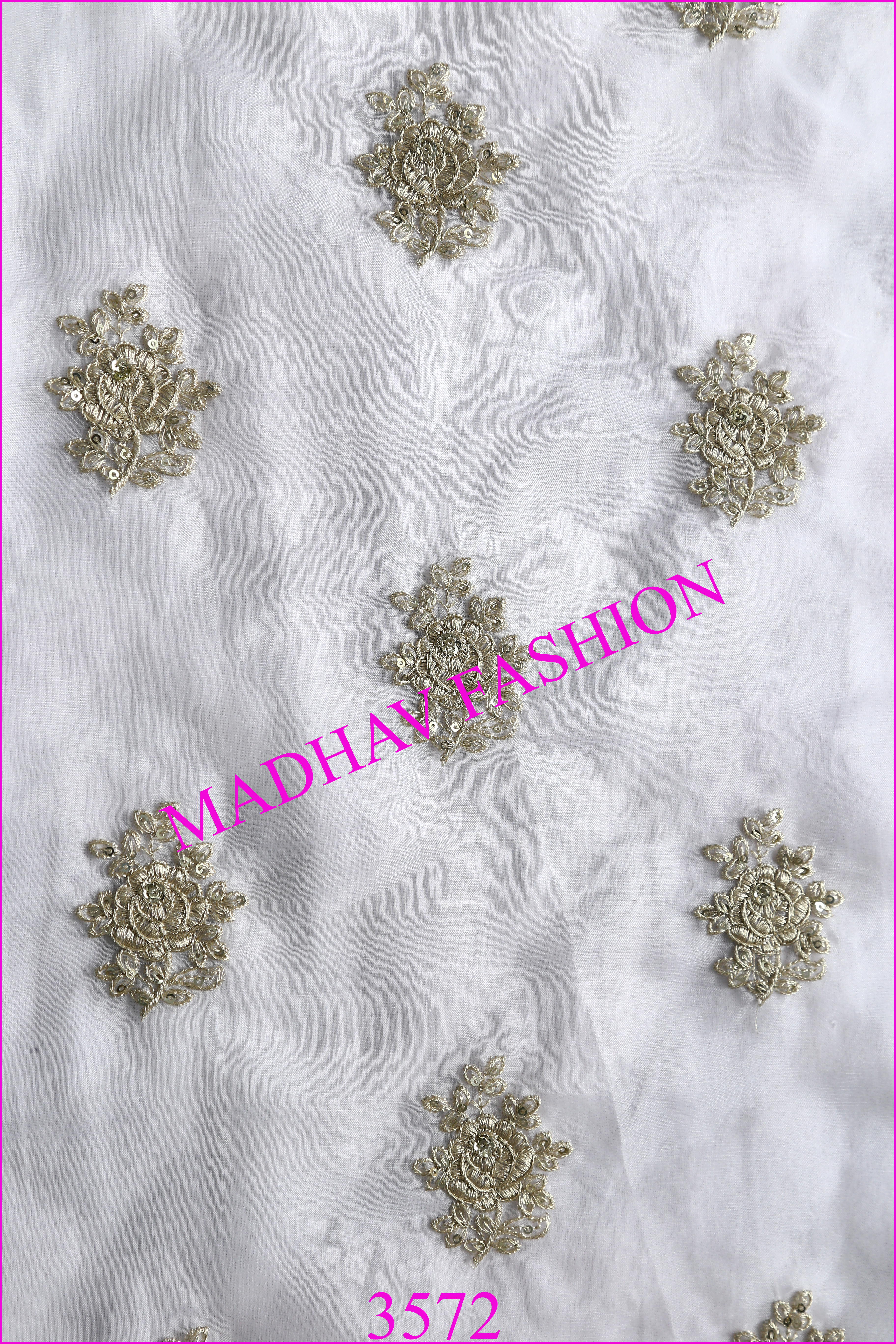 Zari With Sequin Embroidery Work