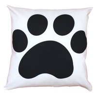 Tiger Paw Design Cushion Cover