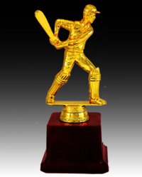 BT 510 Best Batsman Cricket Trophy