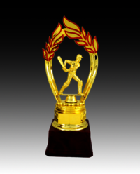 BT 552 A Cricket Fiber Trophy