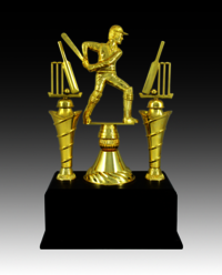 BT 572 Cricket Fiber Trophy